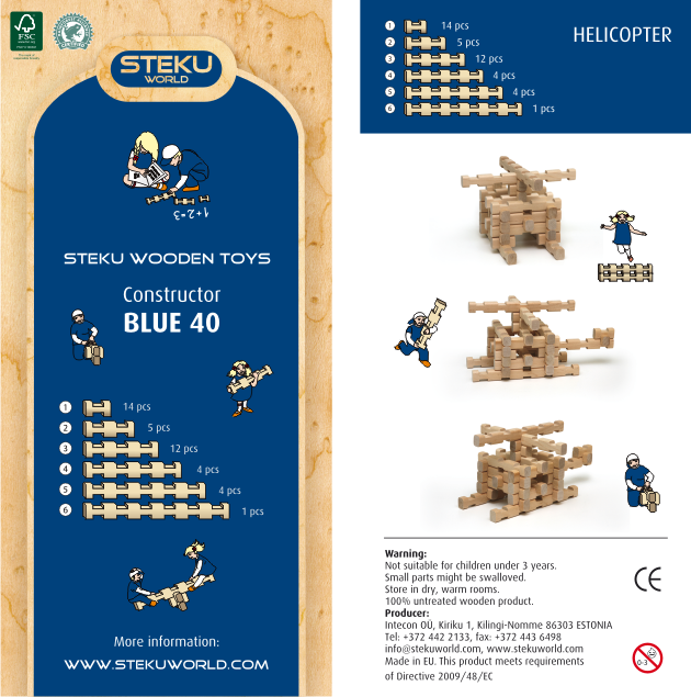 Constructor BLUE 40
